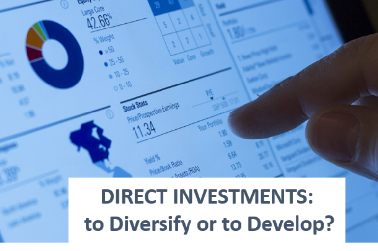 Corporate Direct Investments: to Diversify or to Develop?
